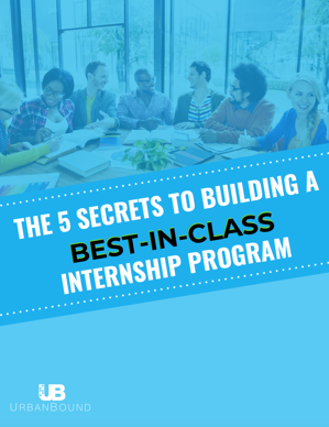 Building a best in class internship program